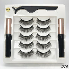 Load image into Gallery viewer, 5 Pairs Magnetic Eyelashes