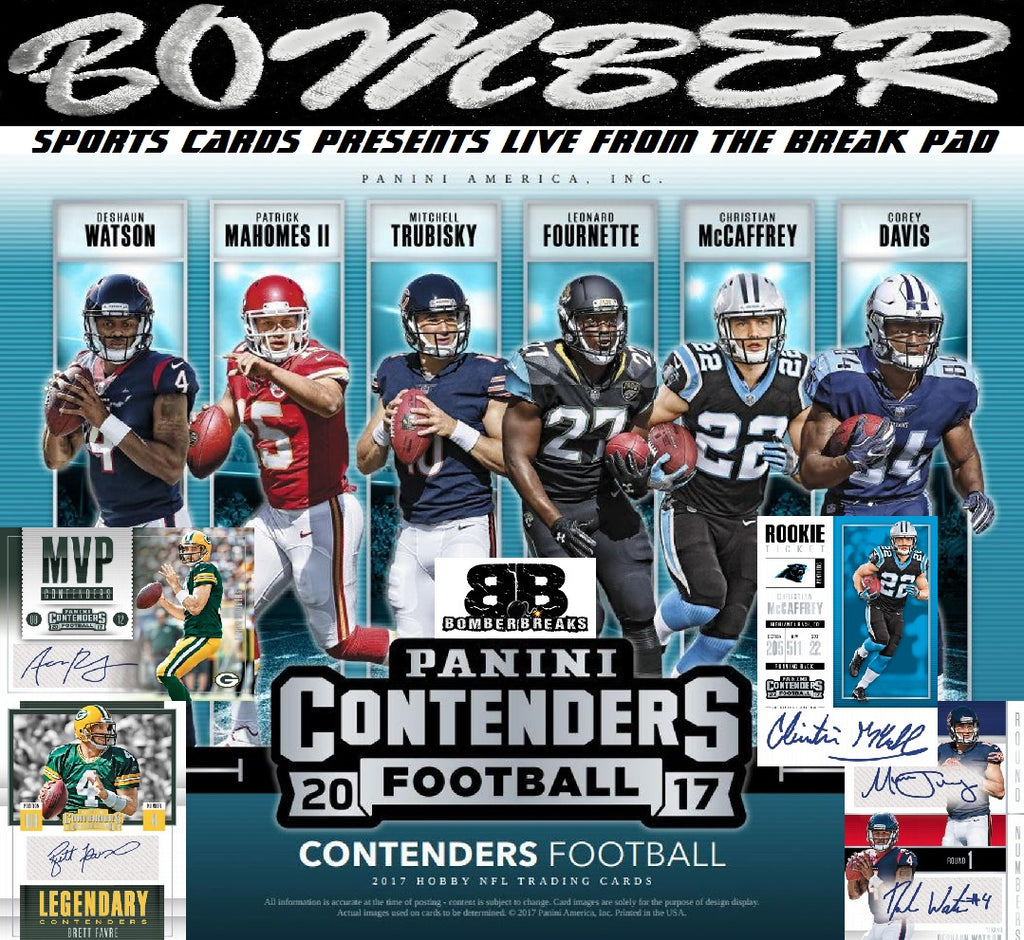2017 Panini Contenders Football 12 Box Case Break - Pick Your Team #1 - Live 12/27/17