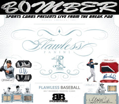 SUNDAY NIGHT BELLINGER CHASE BACK ON!!  2017 Panini Flawless Baseball 1 Briefcase Break - Random Serial Number - Live 6/16/19