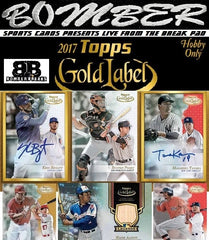2017 Topps Gold Label 16 Box Case Break - Pick Your Team #1 - Live 9/21/17