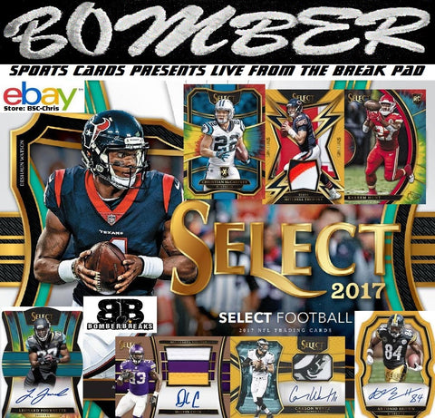2017 Panini Select Football 6 Box 1/2 Case Break [2nd Half] - (eBay Store BSC-Chris Team Auctions*) - Ending SUNDAY @7:30pm ET - 2/18/18