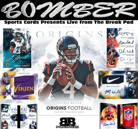 2017 Panini Origins Football 16 Box Case Break - Pick Your Team #3 - Live 8/23/17
