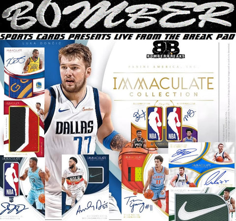 2018/19 Panini Immaculate Basketball 5 Box Case Break - Pick Your Team #1 - Live 10/4/19