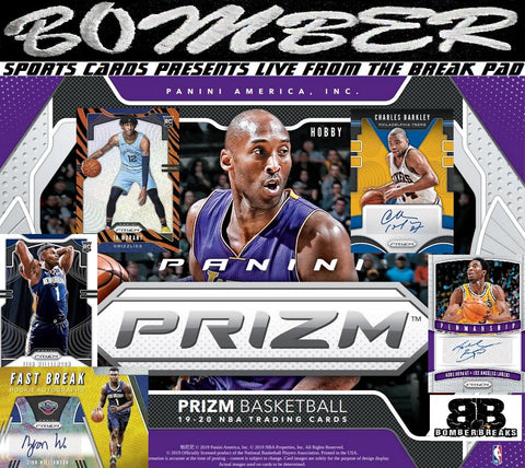 SUNDAY 2019/20 Panini Prizm Basketball 6 Box Half Case Break - Random Team #1 - Live 12/8/19 (10 left)