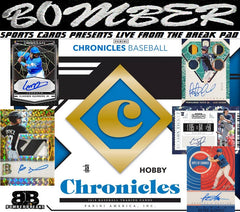 2019 Panini Chronicles Baseball 16 Box Case Break - Pick Your Team #1 - Live 8/21/19
