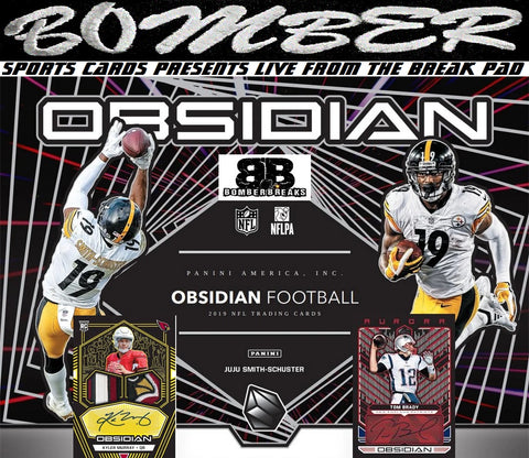 2019 Panini Obsidian Football 12 Box Case Break - Pick Your Team #3 - Live 12/8/19