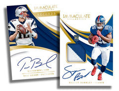 2018 Panini Immaculate Football 6 Box Case Break - Pick Your Team #2 - Live FRIDAY w/Artie 11/23/18