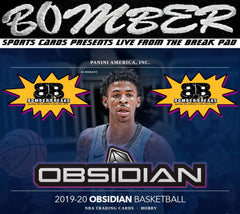 (TRANSCENDENT PROMO 2X) - 2019/20 Panini Obsidian Basketball 3 Box Break - Random Team #26 - Live 10/21/20