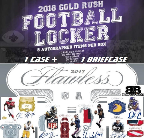 (**BASEBALL JERSEY & BREAK CREDIT GIVEAWAY**) 2017 Panini Flawless/2018 Gold Rush Locker NFL Mixer - Random Teams - Live 5/23/18