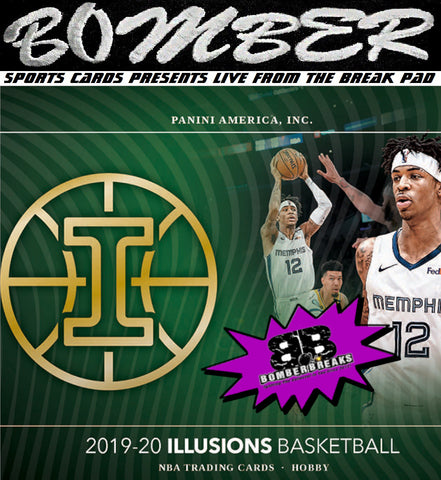 SUNDAY NIGHT - 2019/20 Panini Illusions Basketball 2 Box Break - Random Team #1 - Live 9/20/20 (26 left)
