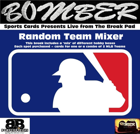 SUNDAY NIGHT Totally Topps 11 Box 58+ Hit MLB MEGA Mixer - Random Teams - Live 8/18/19