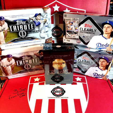 (**BASEBALL JERSEY & BREAK CREDIT GIVEAWAY**) Elite 8 Box Jerseys & Cards MLB MEGA Mixer - Random Teams - Live 5/23/18