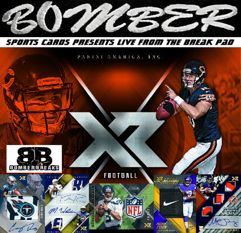 2017 Panini XR Football 15 Box Case Break - Pick Your Team #2 - Live 9/21/17