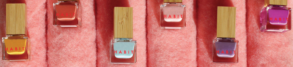 Habit Cosmetics nail polish Singapore