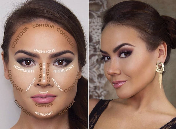 Highlight and contour areas