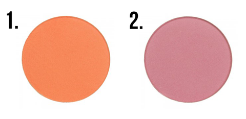 This is an image showing a MakeUpGeek blushers.