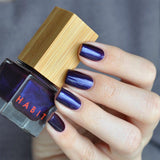 Habit Cosmetics vegan nail polish swatch in the shade 09 Creature of the Night