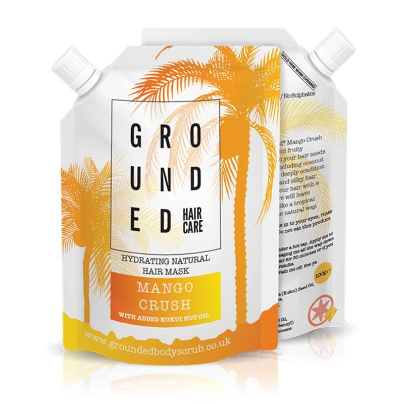 100% natural mango hair mask by Grounded Body Scrub