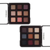 Viseart Golden Hour and Tryst eyeshadow palettes