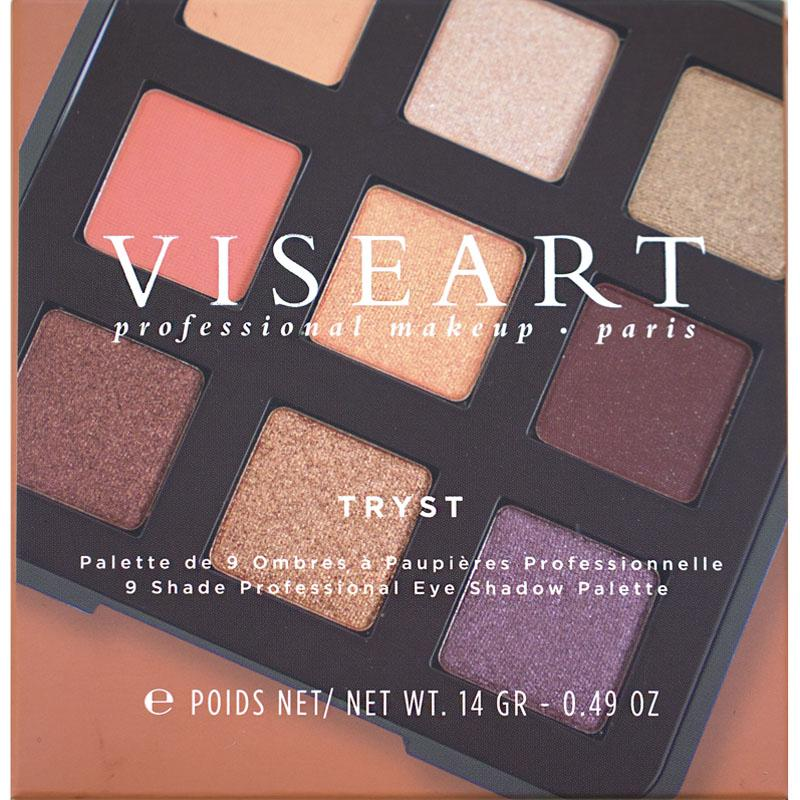 Viseart Tryst palette boxed packaging