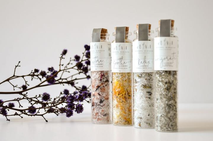 Luxury Herbal Bath Soaks Box Set