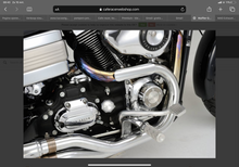 Load image into Gallery viewer, Heatshield straight chrome  (ex. VAT) - MAD Exhausts