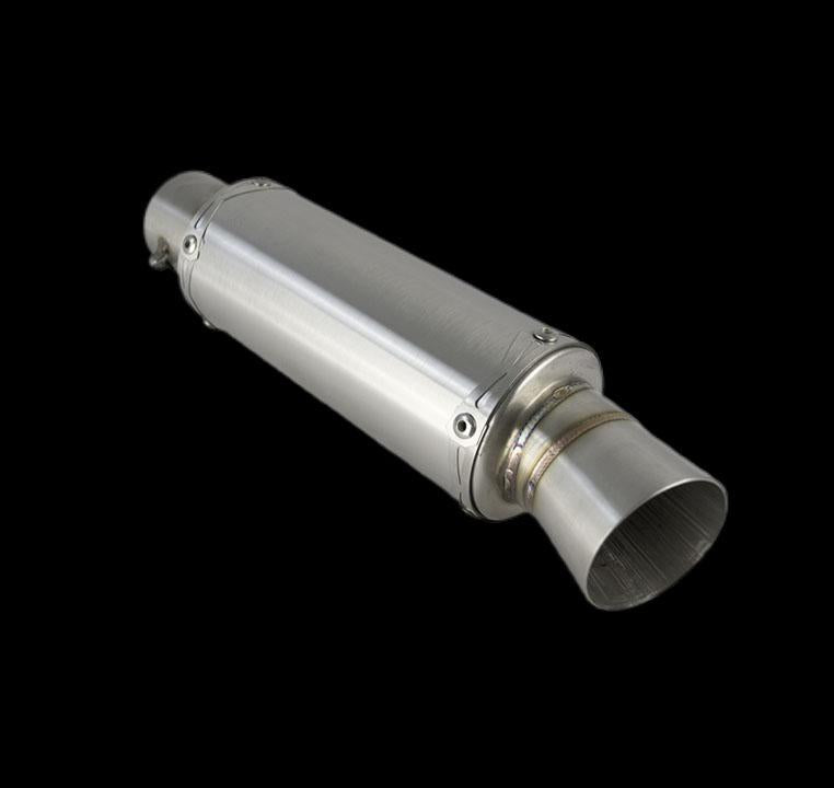 190MM Universal stainless steel exhaust muffler  (ex. VAT) - MAD Exhausts