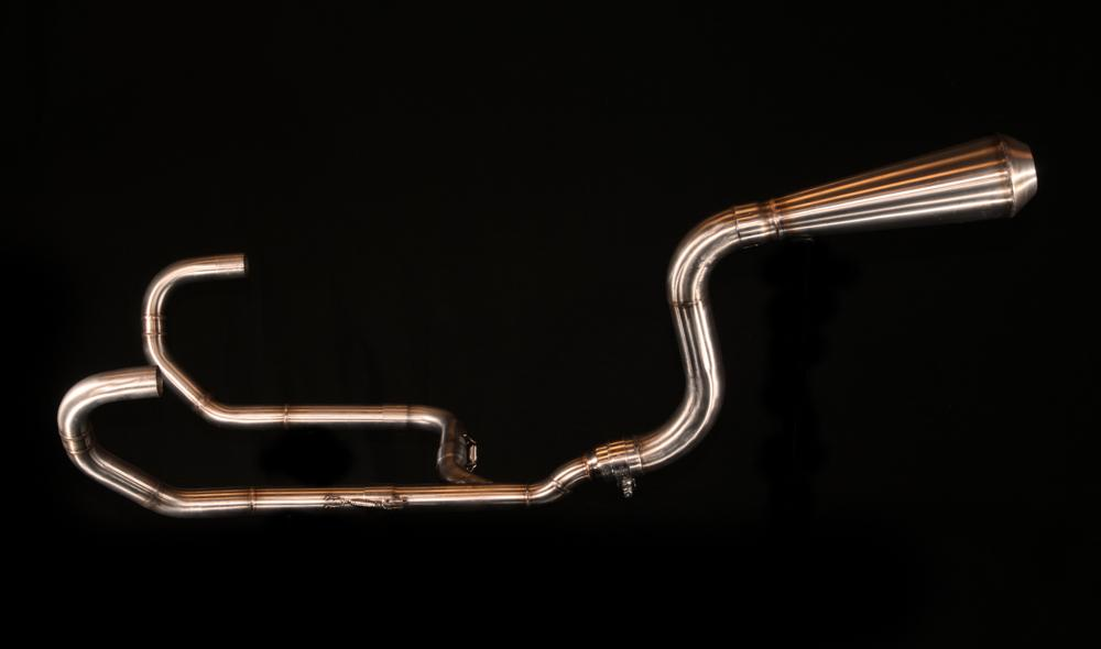 BMW R-series classic exhaust 2-1 high mounth  (ex. VAT) - MAD Exhausts