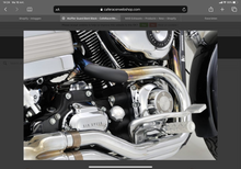 Load image into Gallery viewer, Heatshield black curved  (ex. VAT) - MAD Exhausts