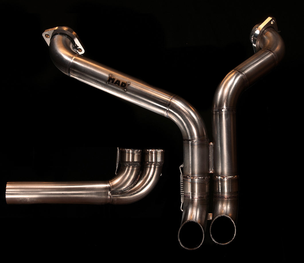 Harley Davidson Sportster 'Switch' exhaust  (ex. VAT) - MAD Exhausts