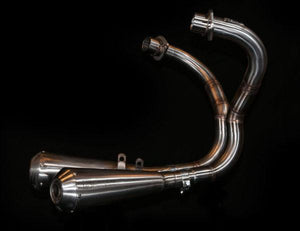 Honda CX GL Exhaust 'V for Victory'  (ex. VAT) - MAD Exhausts