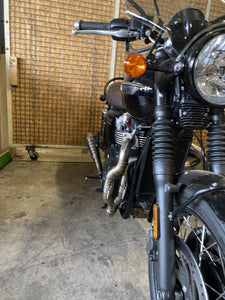 Triumph Bonneville Exhaust 'The Gently'  (ex. VAT) - MAD Exhausts