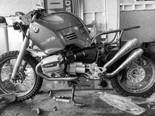 Load image into Gallery viewer, BMW r1100 or r1150 Exhaust 'The Elephant'  (ex. VAT) - MAD Exhausts