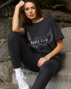 Babes Club Oversized Boxy Tee