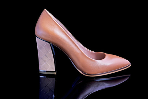 Golden Brown Pumps