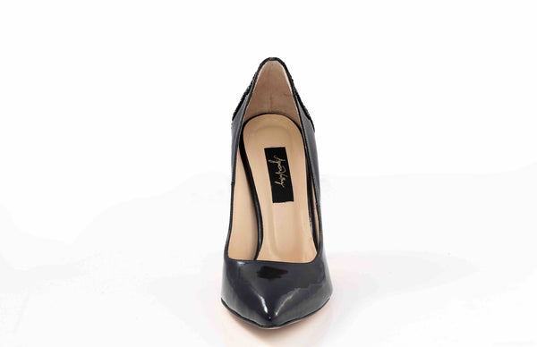 Black Butterfly Pumps