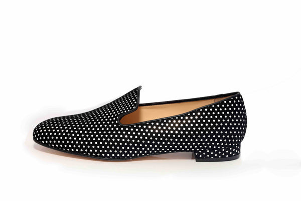 Loafer Silver Dot