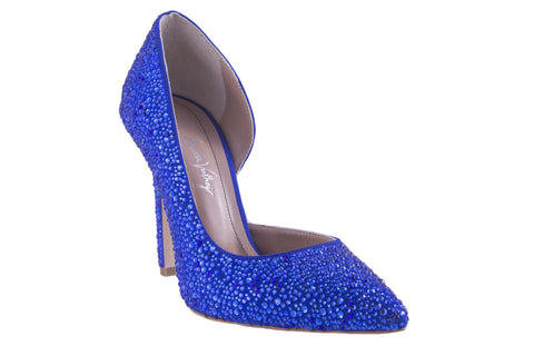 Blue Night Strass Pumps