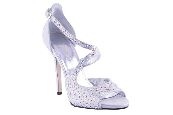 SILVER SUMMER PUMPS