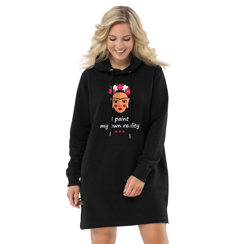 Frida Reality Eco Hoodie Dress