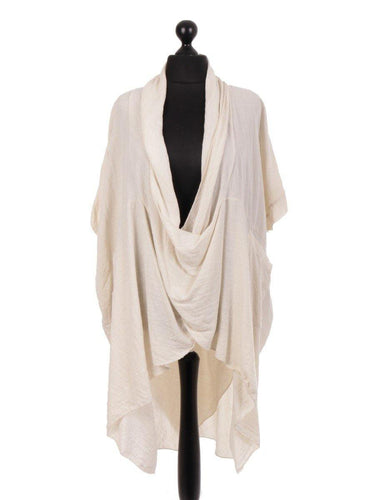 Linen Wrap Top freeshipping - herfreespirit
