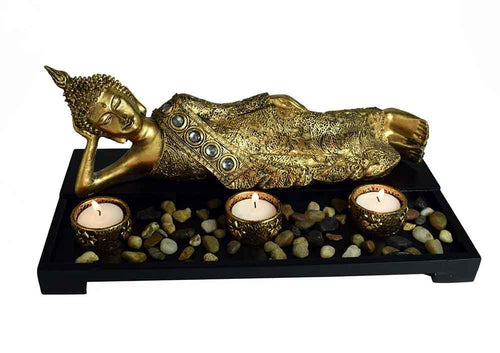T-Light Holder Buddha Thai freeshipping - herfreespirit