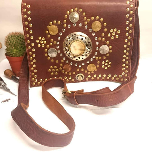 Beautiful boho/ leather bags made in the UK freeshipping - herfreespirit