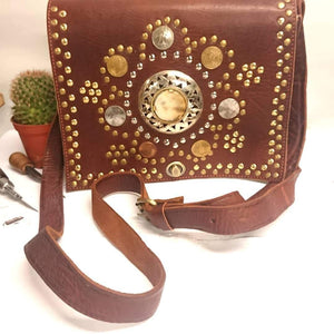 Beautiful boho/ leather bags made in the UK