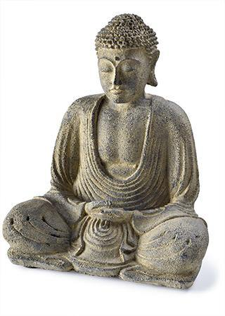 Sitting Large Resin Buddha freeshipping - herfreespirit