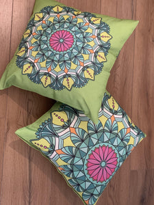 56408 Cushion Covers 45 x 45 cm Hidden Invisible Zip Pack of 2 freeshipping - herfreespirit