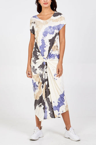 Cloud Cap Sleeve Parachute Dress freeshipping - herfreespirit