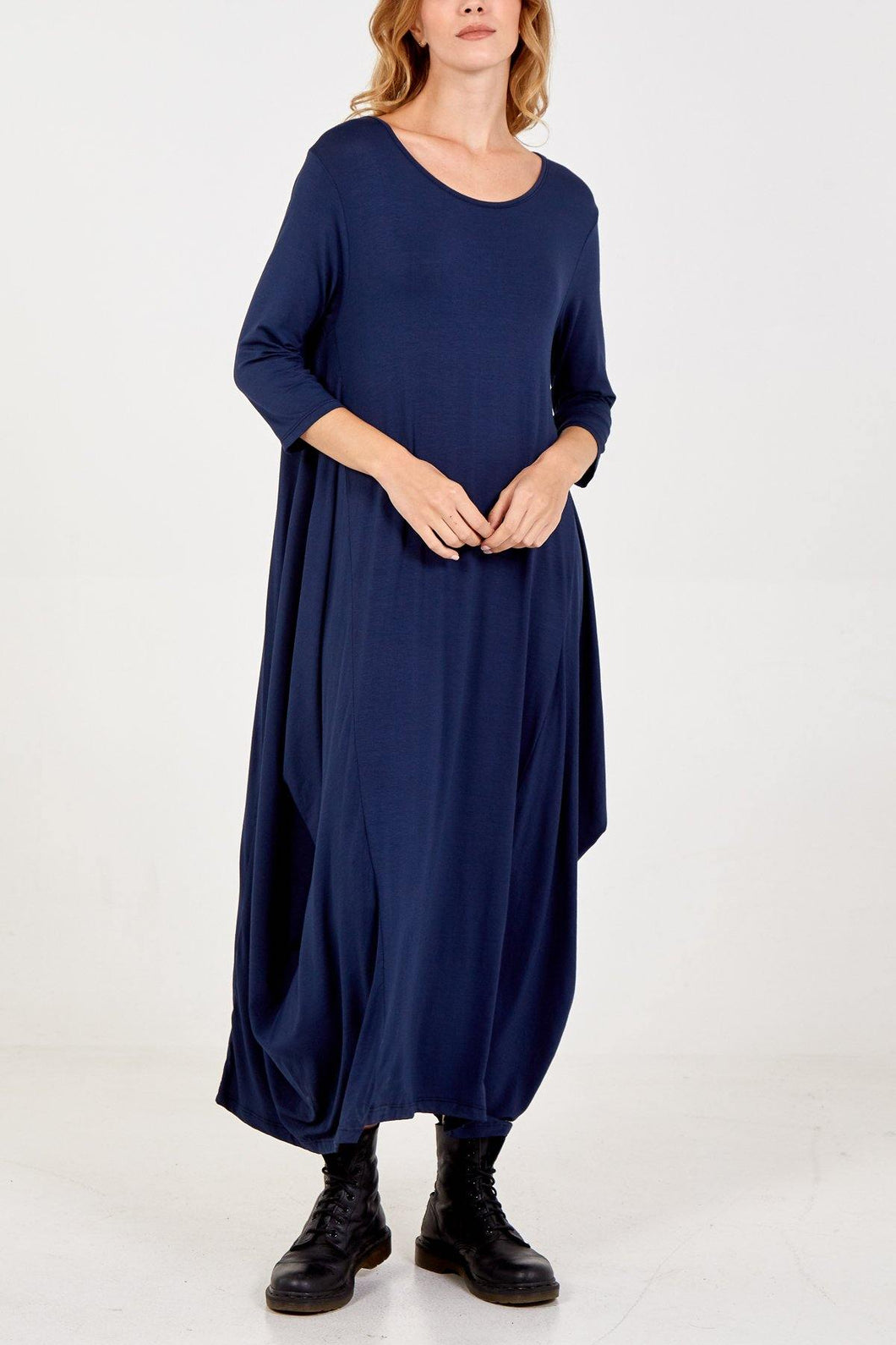 Long Sleeve Parachute Dress freeshipping - herfreespirit