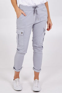 Magic Super Stretch Cargo Trousers freeshipping - herfreespirit