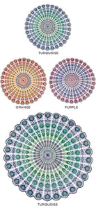 Mandala Design Yoga Mat/EXPRESS DELIVERY/BEST SELLER freeshipping - herfreespirit